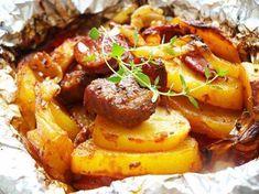 You've got new ideas waiting for you! No Salt Recipes, Pork Recipes, Cooking Recipes, Pork Tenderloin Recipes, Hungarian Recipes, Food 52, Entrees, Easy Meals, Good Food