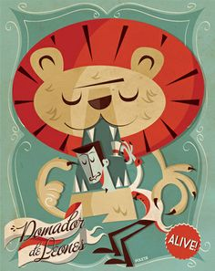 Circus Serie by Poleta Art