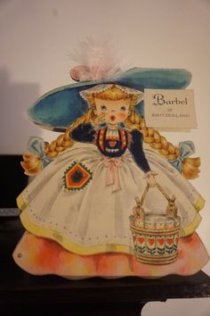 Vintage Hallmark Card Dolls of Nations Collection Barbel of Switzerland 30 | eBay