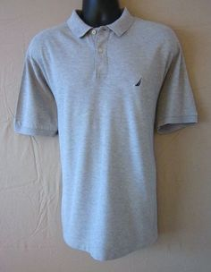 NAUTICA....Be sure to check out this Terrific Nautica polo style shirt!  Perfect for your back to school fashions!  Only 1 available, so grab it before it's gone!  Please visit J and S Menswear for more great deals on men's fashions!