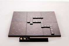 The A1 Typographic Scrabble Set by Andrew Capener