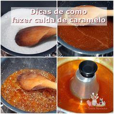 Como fazer calda de caramelo
