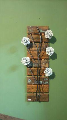 Quadro flores de ferro