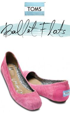 Add some pizzazz to your outfit with a new pair of TOMS Ballet Flats and help make a difference for a child in need.