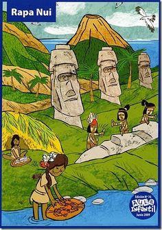 rapa nui Adrien X Marinette, Indigenous Knowledge, Tourism Poster, Easter Island, Sixth Grade, Teaching Spanish, South America, Homeschool, Learn English