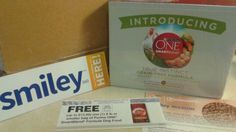 Our free mission pack came today from Smiley360 for the Purina One 28 day challenge. We are trying Purina One Smartblend Dry Dog food for Jericho. The mission pack included a free sample of the dog food, a coupon for a FREE 8 lb bag of food, and a $3 off coupon on another bag. Here's the link for details http://h5.sml360.com/-/1c6fb