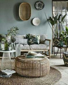 50 Elegant Rustic Apartment Living Room Decor Ideas - Page 13 of 52 - Afshin Decor Rustic Apartment, Apartment Living, Apartment Ideas, Room Inspiration, Interior Inspiration, Inspiration Design, Furniture Inspiration, Furniture Ideas, Estilo Tropical