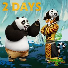 No one's more excited for the new Kung Fu Panda 3 trailer than Tigress. Only 2 more days!