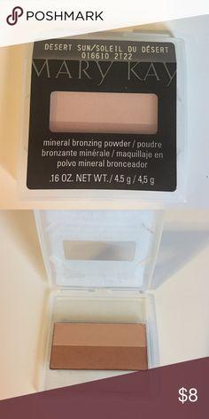 🎀 Mary Kay Mineral Bronzing Powder 🎀 Mary Kay 'Desert Sun' Mineral Bronzing Powder Mary Kay Makeup Bronzer