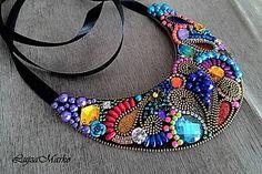 LujzaMarko / Fantasy colors náhrdelník