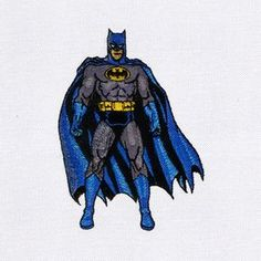 Free Batman Machine Embroidery Design By @digitemb #BatmanEmbroidery #FreeEmbroideryDesigns #Embroidery