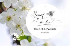 Wedding Favor Tags, Place Cards, Bee, Place Card Holders, Paper