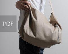 Pinza bolso patrón además encargado de la bolsa de plástico y by SundayGirlDesigns | Etsy