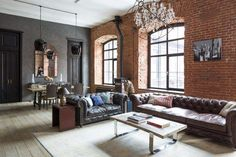 Ideas for your dreamy industrial loft design