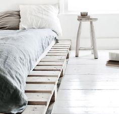 pallet bed base.