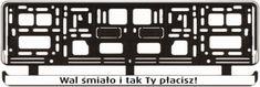 RAMKI REJESTRACYJNE Company Logo