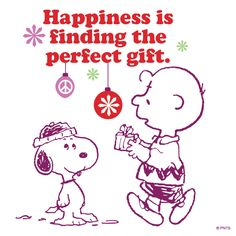 Happiness is finding the perfect gift.