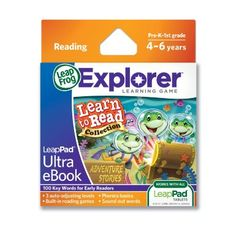 Amazon.com: LeapFrog LeapPad Ultra eBook Learn to Read Collection: Adventure Stories: Toys & Games