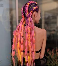 The Ultimate Coachella Hair Inspo is part of braids - Coachella is just weeks away, so it's time to plan your festival look! When it comes to hair, you can Box Braids Hairstyles, Cool Hairstyles, Dreadlock Hairstyles, Hairstyles 2018, Natural Hairstyles, Hair Inspo, Hair Inspiration, Braid Styles, Short Hair Styles