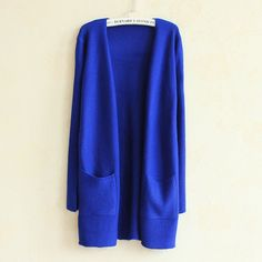 Casual Long-sleeve Cardigans 12 Colors