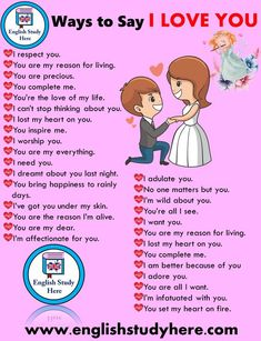 30 different ways to say i love you in english - Ronja English Sentences, English Verbs, Learn English Grammar, English Vocabulary Words, Learn English Words, English Phrases, English Study, English Learning Spoken, English Language Learning