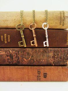 friendship 3 key necklaces