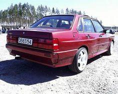 A hand built 80/90 UR quattro
