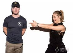 Stephen & Emily #Arrow #SDCC