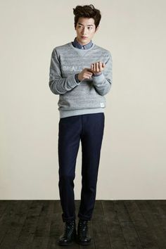 Seo Kang Joon for T.I For Men f/w 2014