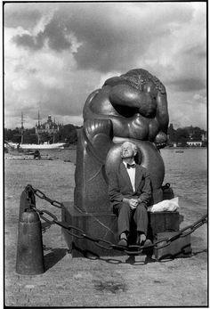 Magnum Photos - Henri Cartier-Bresson // SWEDEN. Stockholm. 1956.