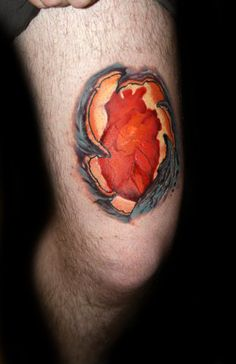 Open heart surgery heart and tattoos and body art on for Heart surgery tattoo
