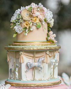 Shake My Blog | Un mariage carrousel