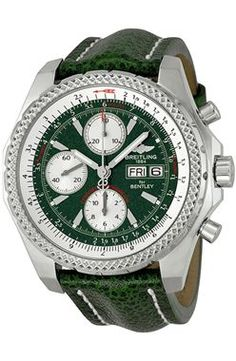 Breitling Bentley GT Verde Automatico Dial A1336212 L503GRLT