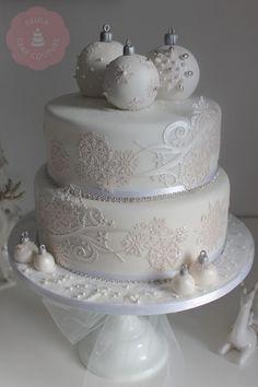 Christmas Cake Decorating Ideas | Best 25+ Christmas cake designs ideas on Pinterest ...