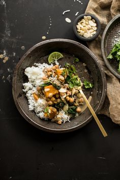 Chickpea And Coconut Korma Curry with Pumpkin | Cook Republic