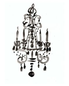 So glam - perfect for a fashionistas closet. Boudoir Chandelier