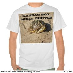 Kansas Box Shell Turtle T-Shirt