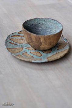 beautiful cup and saucer  pattern and texture and color beautifully blended