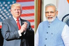 Prime Minister Modi to meet US President Donald Trump today and their meeting will be of 5 hrs as scheduled. #InternationalUpdates #ChennaiUngalKaiyil.