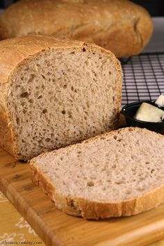 This is by far my favorite go-to Moist Wheat Bread Recipe because it's so easy to make. It stays more moist compared to other wheat bread recipes that I've tried. Moist Bread Recipe, Wheat Bread Recipe, Easy Bread Recipes, Low Carb Recipes, Cooking Recipes, Slow Cooker Bread, Muffins, Bread And Pastries, Other Recipes
