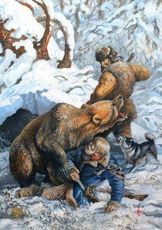 Инструкция по поведению человека при встрече с медведем. / Сибирский охотник