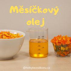 Měsíčkový olej - Holky bez silikonů – domácí kosmetika, suroviny, kurzy, recepty.