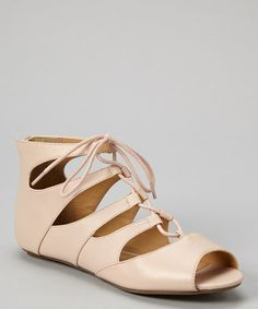 Look at this #zulilyfind! Cream Larry Gladiator Sandal by Mark & Maddux #zulilyfinds