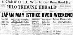 Why Did Japan Attack Pearl Harbor; Kevin Barrett, December 7, 2015, Veterans Today: Must read.