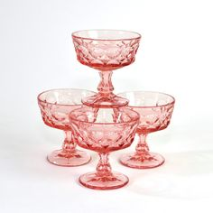 pink sundae glasses - Google Search