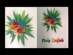 Quilling tutorial Advanced 3D- How to make Advanced Quilling - YouTube