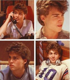 Johnny Depp Characters, Johnny Depp Movies, Johnny Depp Hairstyle, John Depp, Johnny Depp Pictures, Young Johnny Depp, Good Looking Actors, Boys Are Stupid, Nightmare On Elm Street