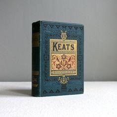 Antique Poetry Book  Complete Works of by BarkingSandsVintage