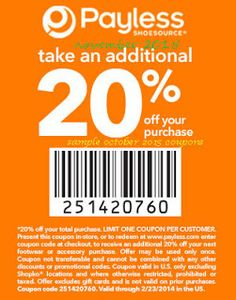 Payless Shoes Coupons PROMO expires April 2020 Hurry up for a BIG SAVERS Payless offers shoes and accessories for men, women and childre. Grocery Coupons, Online Coupons, Free Printable Coupons, Printable Cards, Calendar Printable, Dollar General Couponing, Coupons For Boyfriend, Brand Names And Logos, Coupon Stockpile