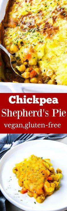 Chickpea Shepherd's Pie vegan, gluten-free